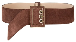 J. Peterman - Wide Suede Belt