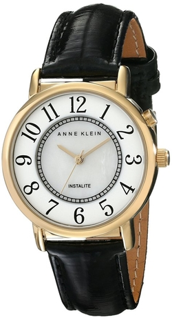 Anne Klein - Mother-Of-Pearl Inner Dial Watch
