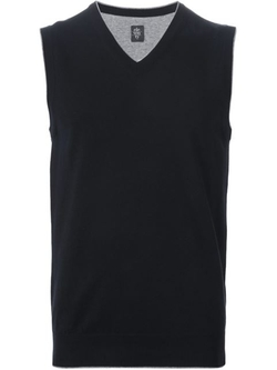 Eleventy - V-Neck Knit Vest