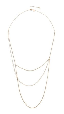 Blanca Monros Gomez - Layered Chain Necklace