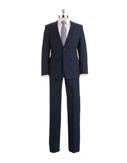 DKNY - 2-Piece Pinstripe Wool Suit