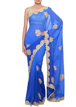 Panisha - Anarkali Sari Embellished