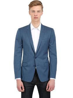 Dolce & Gabbana  - Stretch Wool Martini Fit Tailored Jacket