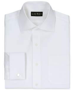 Lauren Ralph Lauren - Pinpoint Solid Dress Shirt