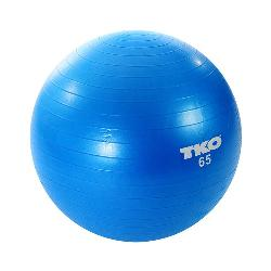 TKO  - Anti-Burst Fitness Ball with Pump and Instruction Chart