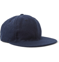 Ebbets Field Flannels   - Wool-Broadcloth Baseball Cap