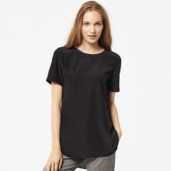 Uniqlo - Women Short Sleeve Blouse