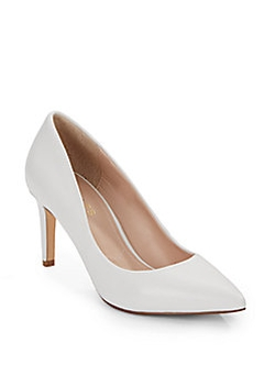 Charles By Charles David  - Leather Point-Toe Pumps