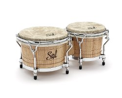 Sol Percussion - Pro Bongos Drum