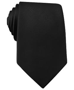 Bar III  - Solid Satin Slim Tie