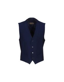Carlo Pignatelli - Jacquard Button Vest