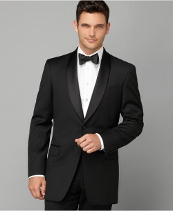 Tommy Hilfiger - Shawl Collar Trim-Fit Tuxedo Jacket