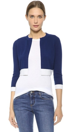 Lisa Perry - Cropped Cashmere Cardigan