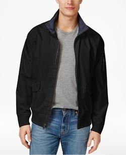 Izod - Rib Knit Bomber Jacket