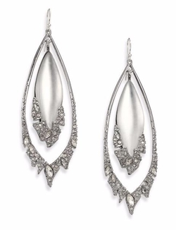 Alexis Bittar  - Glacial Crystal Orbital Lucite Drop Earrings