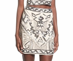 Missguided - Embellished Miniskirt