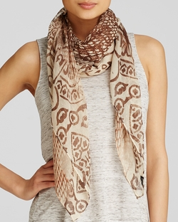 Fraas - Snake Print Square Scarf