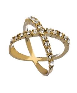 Blu Bijoux - Criss Cross Ring
