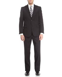 Neiman Marcus  - Tonal Striped Modern-Fit Suit