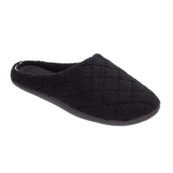 Dearfoams - Microfier Terry Quilted Clog Slippers