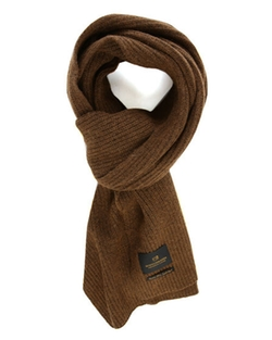 Scotch And Soda  - Cashmere/wool Ribbed Scarf