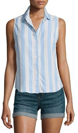 Rails - Mila Sleeveless Button-Front Shirt