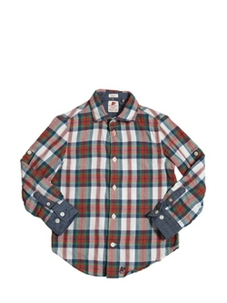 American Outfitters - Plaid Cotton Flannel Shirt