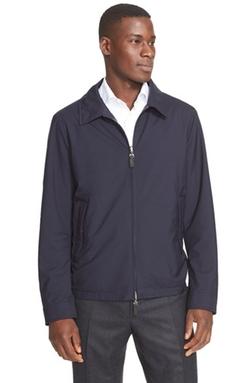 Canali - Reversible Wool & Silk Jacket