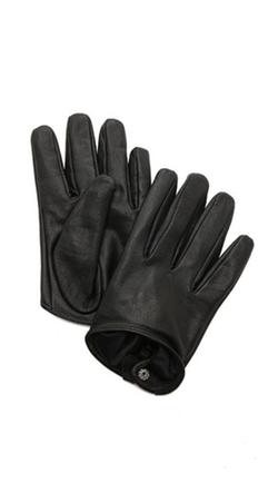 Carolina Amato - Short Leather Gloves