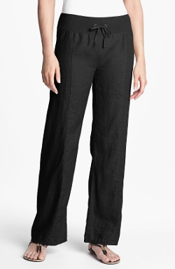 Eileen Fisher - Wide Leg Linen Pants