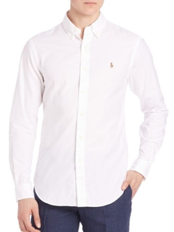 Polo Ralph Lauren  - Button-Down Long Sleeve Shirt