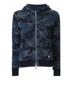 Loveless - Camouflage Zipped Hoodie