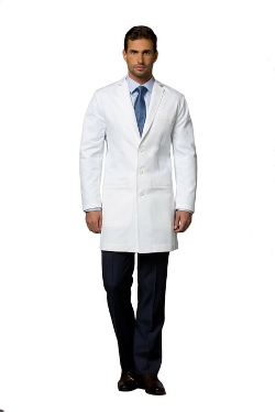 Medelita - Mens Slim Fit Lab Coat