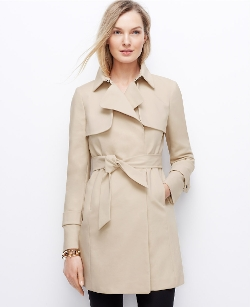 Ann Taylor - Relaxed Trench Coat