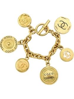 Chanel Vintage - Coin Charm Bracelet