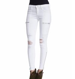 J Brand - Kassidy Distressed Skinny Jeans