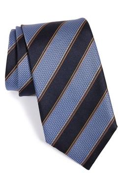 Canali  - Stripe Silk Tie