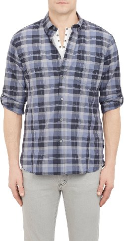 John Varvatos Star U.S.A.  - Plaid Shirt