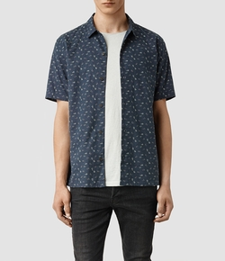 All Saints - Rosid Short Sleeved Shirt