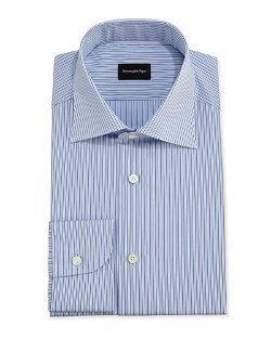 Ermenegildo Zegna	  - Striped Dress Shirt