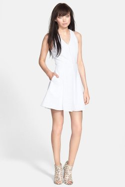 Greylin  - Patricia Embroidered Fit & Flare Dress