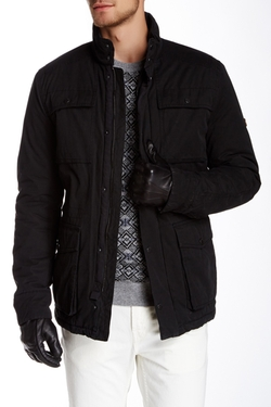 Ben Sherman  - Dry Wax Coated Field Jacket