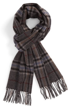 Nordstrom  - Glen Plaid Wool Scarf