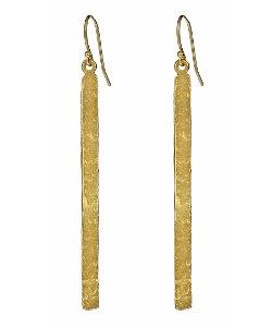 Lisa Stewart  - Hammered Bar Earrings