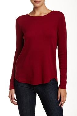Premise Studio - Back Pleat Crew Sweater