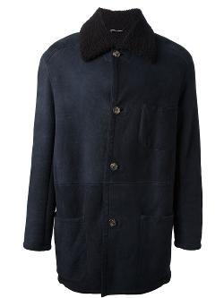 Hermès Vintage - Oversized Fur Collar Coat