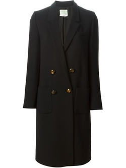 Forte Forte - Double Breasted Formal Coat