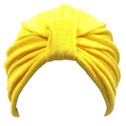 Luxury Divas - Terry Cloth Stretchy Turban