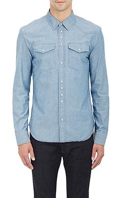 Maison Margiela - Chambray Western Shirt