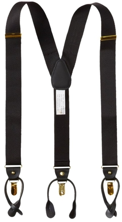 Geoffrey Beene - Basket Weave Suspender